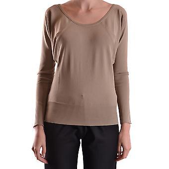 Liviana Conti Ezbc261017 Dames's Beige Viscose Sweater