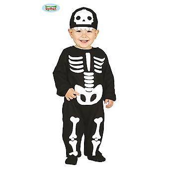 Baby Skeleton overall kostym för barn Carnival Carnival Carnival Carnival
