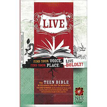 Live NLT Bible by Tyndale House Publishers - 9781414314419 Book