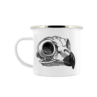 Grindstore Aquila Skull Enamel Mug