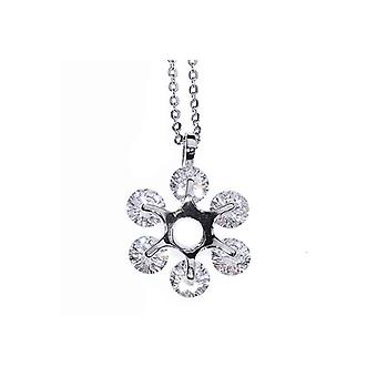 Dainty Blossom Of Love Pendant Clavicle Necklace