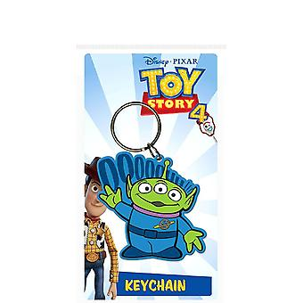 Toy Story 4 Alien Rubber Keyring