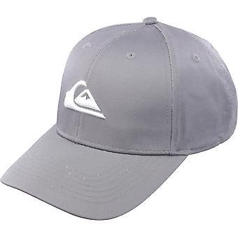 Quiksilver Herren Jahrzehnte Snapback Hut - ruhigen Schatten grau