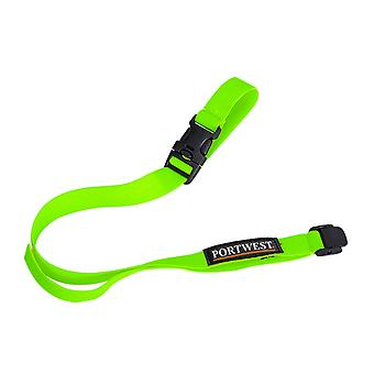 Portwest - Hi-Vis Helmet Safety Lanyard (Pack of 10)