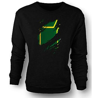 Mens Sweatshirt Kick Ass slet Design kostym - roliga superhjälte