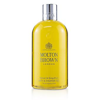 Molton Brown Vetiver & Grapefruit Bath & Shower Gel - 300ml/10oz