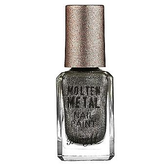 Barry M Molten Metal Nail Polish - Black Diamond