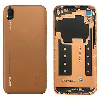 Huawei Battery Cover Battery Cover Brown pour Y5 2019 97070WGL Réparation Nouveau