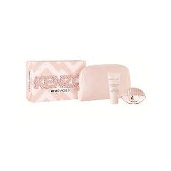 Kenzo World Regalo Set 50ml EDT - Lozione per il corpo 75ml - Pouch - Edizione Rosa
