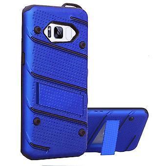 Samsung S8 ja S8 Duos tapauksessa sininen - Armor Case