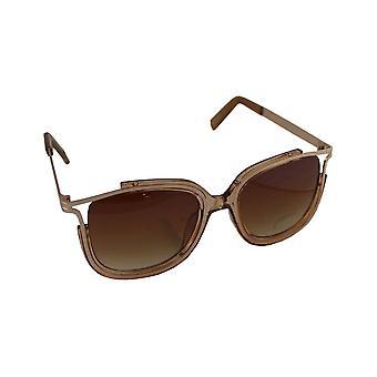 Solbriller UV 400 rektangel BruinHL130_1