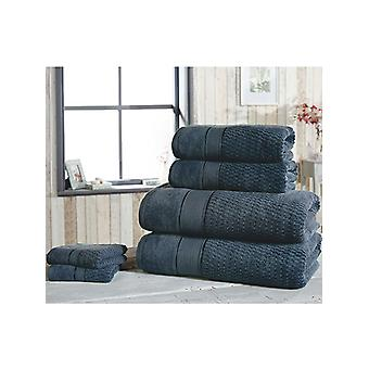 Royal Velvet 6 Piece Toalla Bale Denim