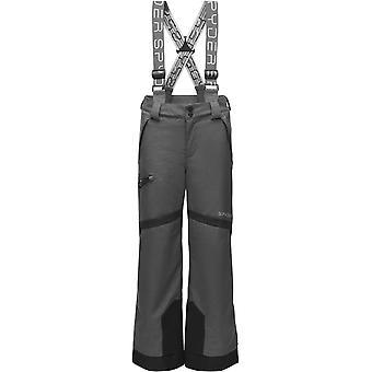 Spyder propulsie Boys REPREVE PrimaLoft pantaloni de schi cărbune