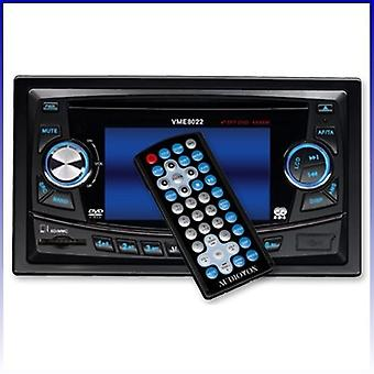 "Audiovox VME 8022 8,9 cm (3,5 "") TFT Moniceivers doble DIN radio nuevo"
