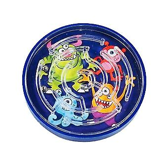Single Plastic Monster Themed Maze Puzzle for Kids Party Bags