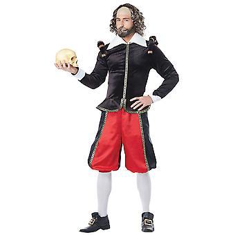 William Shakespeare inglese drammaturgo poeta rinascimentale medievale Mens Costume