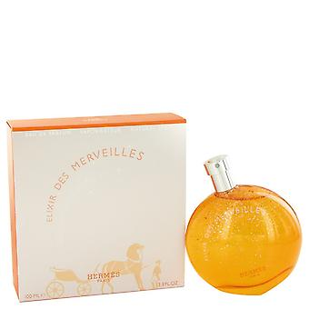Elixir Des Merveilles przez Hermes Eau De Parfum Spray 3,4 uncji/100 ml (kobiety)