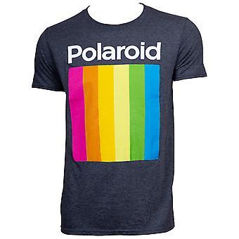 Polaroid Logo Men's Black T-Shirt