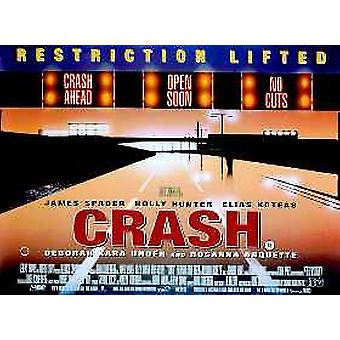 Crash (Single Sided) Original Cinema Poster