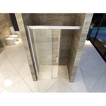 Puerta de la ducha para nicho 130cm apertura anti-suave deslizamiento