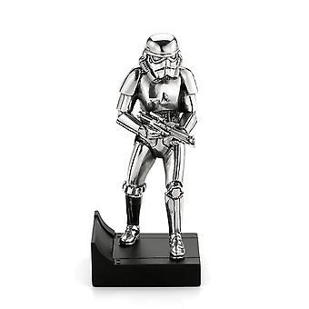 Star Wars By Royal Selangor 017862R Imperial Stormtrooper Pewter Figurine
