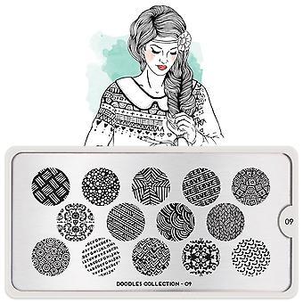 MoYou London Nail Art Image Plate - Doodles 09 (MPDOO09)