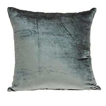 """18"""" x 7"""" x 18"""" Cubierta de almohada sólida de carbón de transición con inserción de poli"""