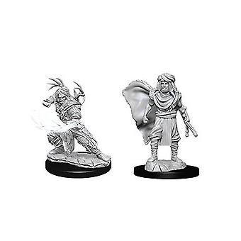 D&D Nolzur's Marvelous Unpainted Miniatures Male Human Druids (Pack of 6)