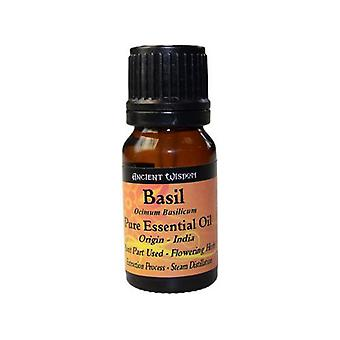 Basil Essential Oil 10 ml or 0.34 fl oz