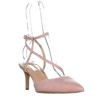 INC International Concepts Leniil Pointed Toe Buckle, Blush Suede Size 6.5 M US
