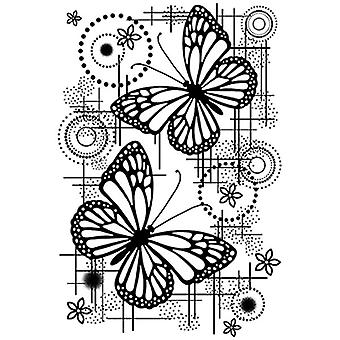 Woodware Clear Stamp Set Butterfly Dream
