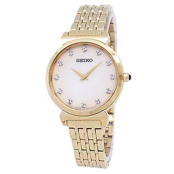 Reloj Seiko Quartz SFQ802 SFQ802P1 SFQ802P Diamond Accents Women's