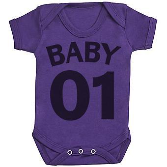 Mummy Baby 01 - Matching Set - Baby Bodysuit & Mum T-Shirt