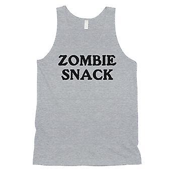 Zombie Snack miesten harmaa moderni lainaus nokkela viileä Halloween säiliö alkuun