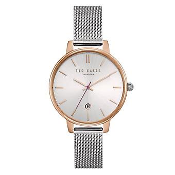 Ted Baker Kate Quartz Silver Dial Milanese Stainless Steel Bracelet Ladies Watch te15162011
