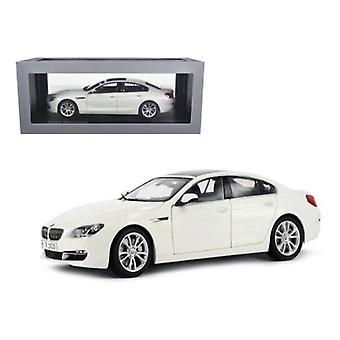 BMW 650i Gran Coupé 6 Series F06 Alpine White 1/18 Diecast Car Model par Paragon