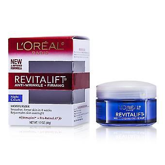 L&apos؛Oreal الجلد الخبرة Revitalift كريم ليلة كاملة - 48g/1.7oz