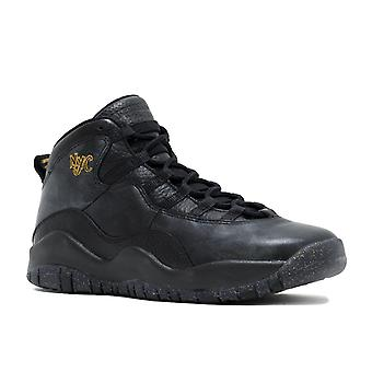 Air Jordan 10 Retro Bg (Gs) 'Nyc' - 310806-012 - Shoes