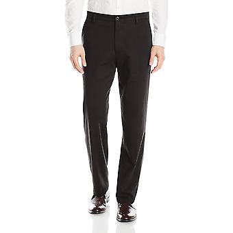 Dockers Men's Classic Fit Easy Khaki Pants D3,, Black (Stretch), Size 32W x 32L