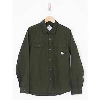 Barbour Beacon Ripstop Overshirt - Forrest Green