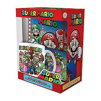 Super Mario Evergreen Premium Notebook Gift Set