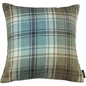 McAlister tekstiilit Angus Tartan tarkistaa Ankka muna sininen tyyny