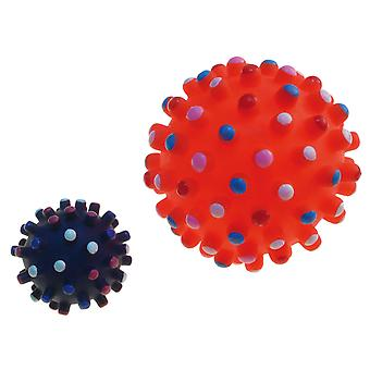 Arquivet Ball with Coloured Spikes 7Cm (Dogs , Toys & Sport , Balls)