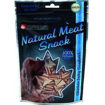 Ontario Dog Duck Jerky Snack Sandwich 70g (Dogs , Treats , Natural Treats)