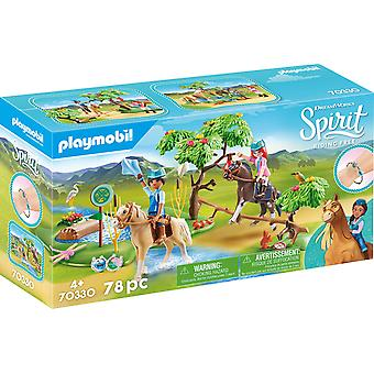 Playmobil DreamWorks Spirit 70330 River Challenge 78PC Playset