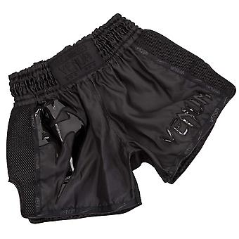 Venum Giant Mens Adults Training Fitness Muay Thai Short Black