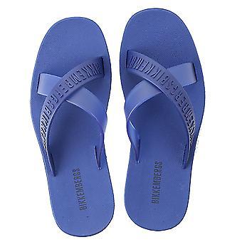 Bikkembergs B6a80372020 Men's Blue Pvc Sandals