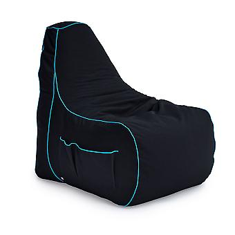 Game Over Lich Blade Video Gaming Bean Bag Chair | Sala de Estar Interior | Bolsos laterais para controladores | Suporte para fones de ouvido | Design ergonômico para o Gamer Dedicado
