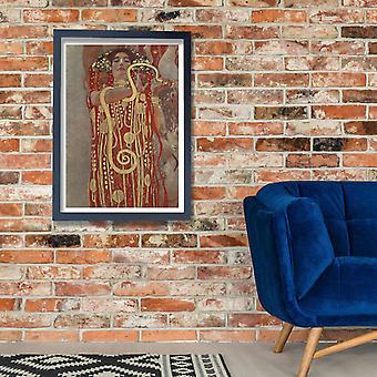 Gustav Klimt - Hku Klimt Hygieia plakat Giclee druku