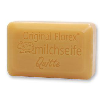 Florex Sheep's Milk Soap - Quince Luxury - Pleasant fruity fragrance very moisturizing 100 g